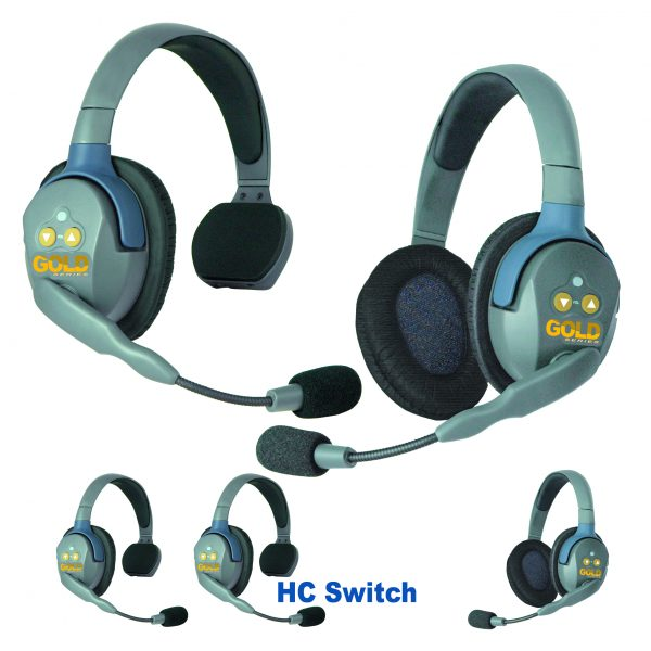 GOLD Series GHC5 Wireless Headsets