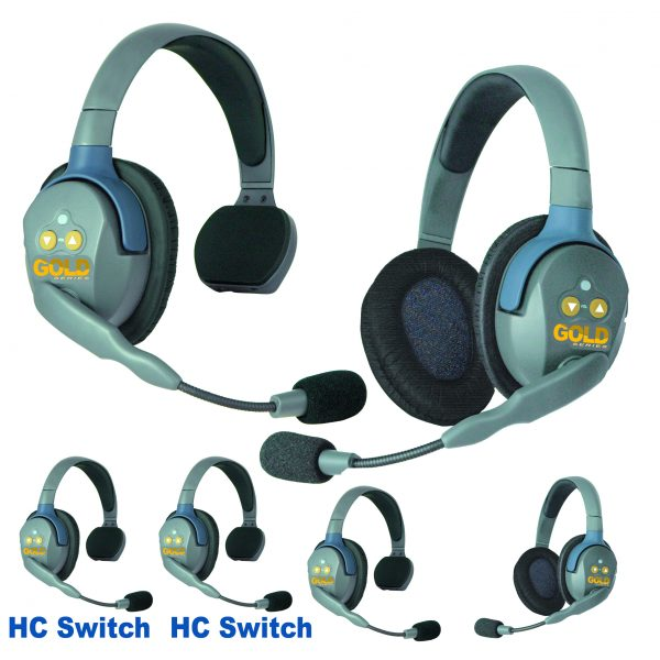 GOLD Series GHC6 Wireless Headsets
