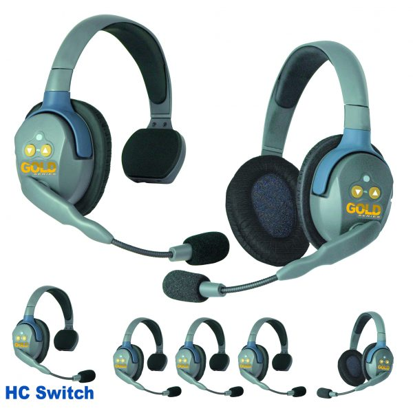 GOLD Series GHC7 Wireless Headsets