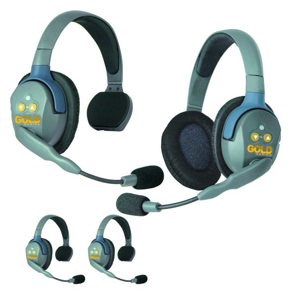 GOLD Series GS4 Wireless Headsets