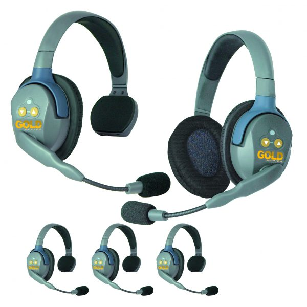 GOLD Series GS5 Wireless Headsets